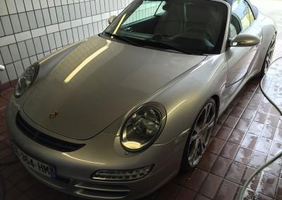 Nettoyage Porsche