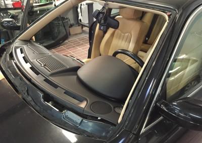 pare brise Maserati quattroporte