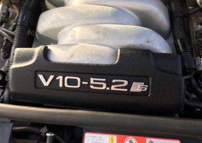 Audi S8 V10 5.2l en livraison …..